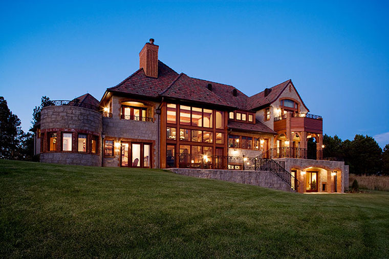 English Country House Style Home In Western South Dakota By Felhandler  Steeneken Architects, ...